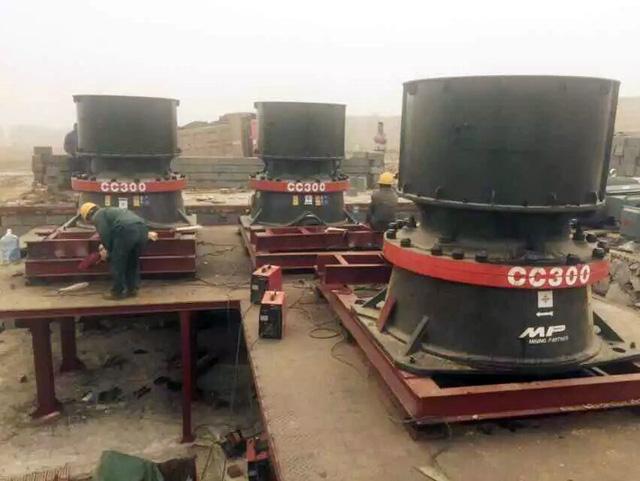 福建龙岩5000TPD花岗岩砂石生产线
