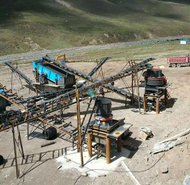 黑龍江正大礦業公司600萬噸/年砂石骨料生產線